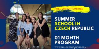Summer School in Czech Republic
