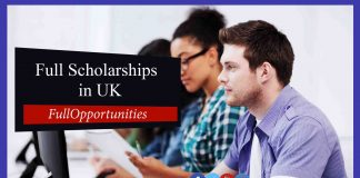 Top Full Scholarships in London 2020