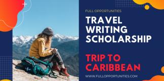Travel Writing Scholarships