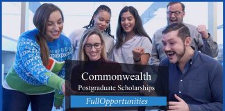 Commonwealth Postgraduate Scholarships