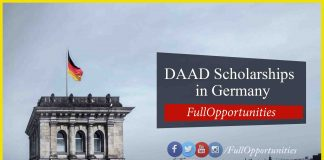 DAAD Scholarships in Germany