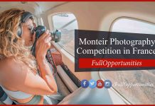 Monteir Photography Competition in France