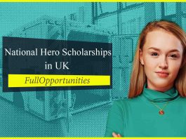 National Hero Scholarships in uk