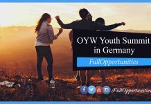 OYW Youth Summit in Germany