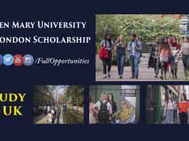 Queen Mary University of London Scholarship