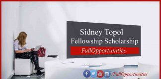 Sidney Topol Fellowship Scholarship