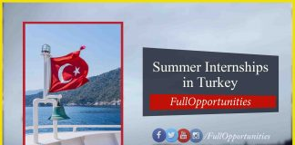 Summer Internships in Turkey