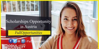 The Next Generation Scholarships in Austria 2020