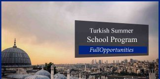 Turkish Summer School Program