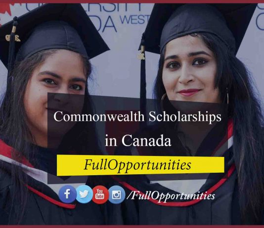 Commonwealth International Scholarships