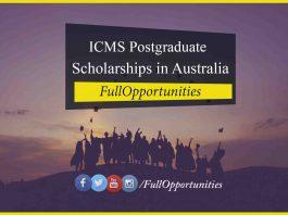 ICMS Postgraduate Scholarships
