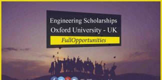 UK Engineering Scholarships at Oxford University