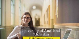 University of Auckland Scholarships