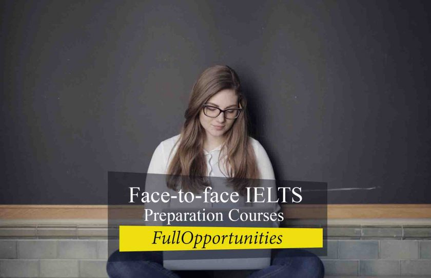 Face-to-face IELTS Preparation Courses