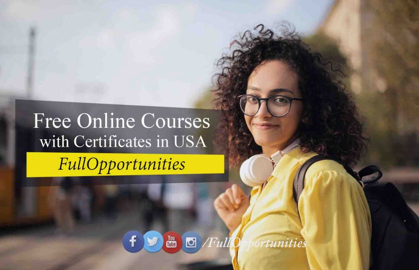 Free Online Courses with Certificates in USA