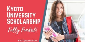Koyoto University Scholarship in Japan