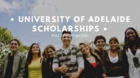 University of Adelaide Scholarships For International Students 2020