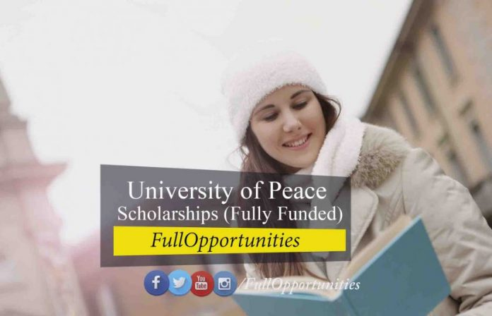 University of Peace Scholarships