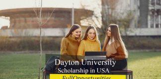 Dayton University Undergraduate Scholarship