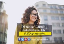 Distance Learning Scholarships