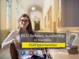 ECU Industry Scholarship in Australia