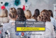 Global Peace Summit in Turkey