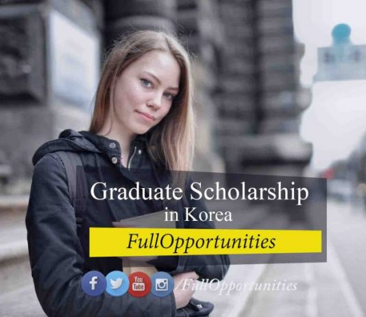 Graduate Scholarship in Korea