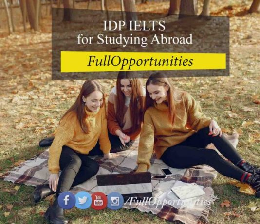 IDP IELTS for Studying Abroad