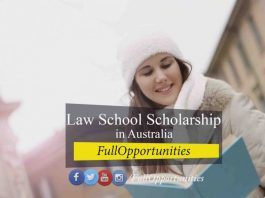 Law School Scholarship in Australia
