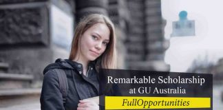 Remarkable Scholarship at GU Australia