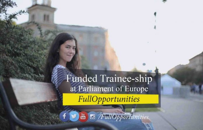 Trainee-ship at Parliament of Europe