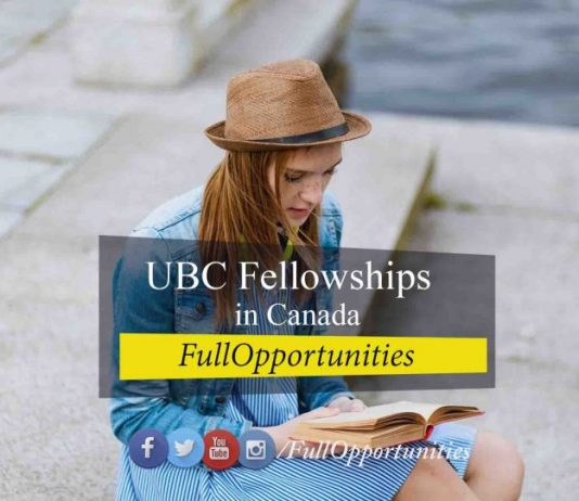 UBC Fellowships in Canada