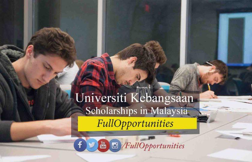 Universiti Kebangsaan Scholarship in Malaysia 2020
