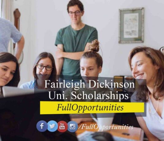 Fairleigh Dickinson University International Scholarships