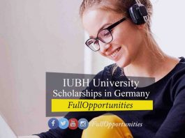 IUBH University of Applied Sciences Scholarships