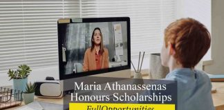 Maria Athanassenas Honours