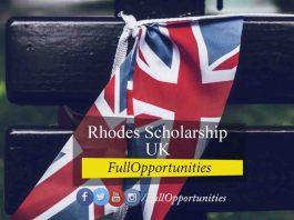 Rhodes Scholarship at Oxford University