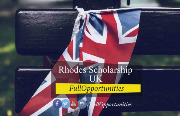 Rhodes Scholarship at Oxford University