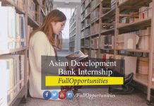 Asian Development Bank Internship