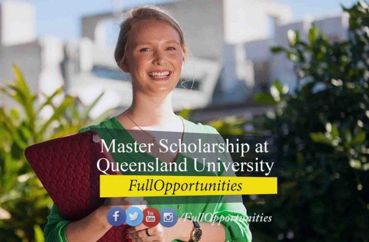 Master Scholarship at Queensland University