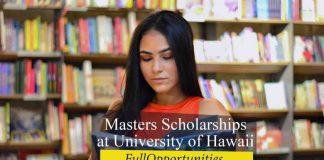 Masters Scholarships at University of Hawaii