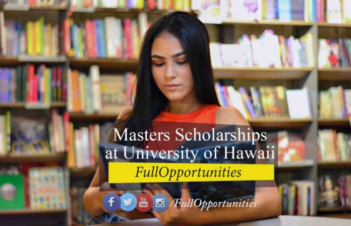 Masters Scholarships at University of Hawaii