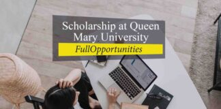 Scholarship at Queen Mary University