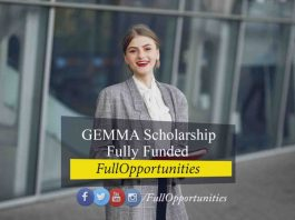 GEMMA Scholarship Erasmus Mundus – Fully Funded