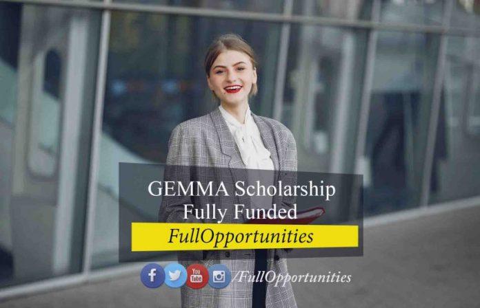 GEMMA Scholarship Erasmus Mundus – Fully Funded