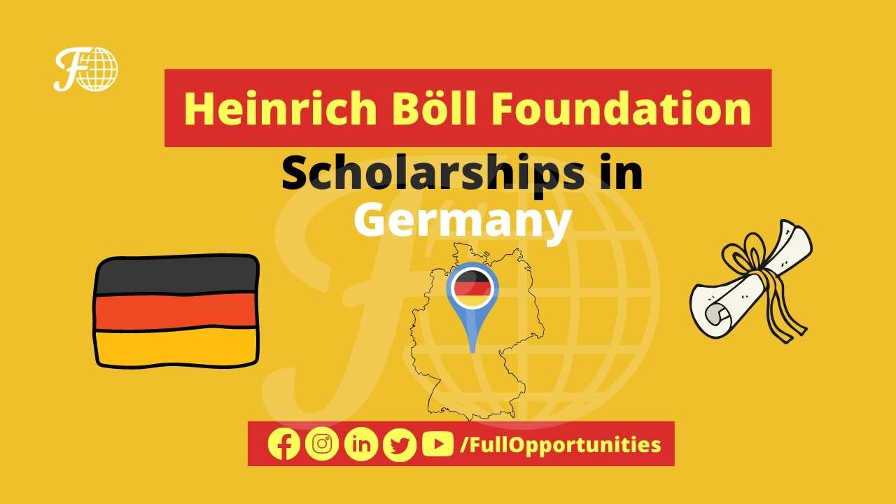 Heinrich Böll Foundation Scholarships in Germany 2021