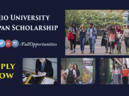 Keio University Japan Scholarships