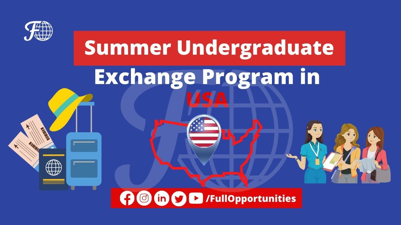 Summer Undergraduate in USA
