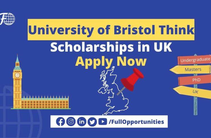 University of Bristol Think Big Scholarship